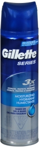 Gillette Series Ultra Moisturizing with Glycerin Shave Gel 7 oz