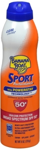 Banana Boat Ultramist Sport Performance Sunscreen Clear SPF 50, 6oz