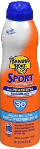Banana Boat Ultramist Sport Performance Sunscreen Clear SPF 30, 6oz