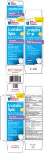 GNP® Children's Loratadine 5mg Sugar Free Liquid, Grape- 4oz