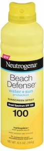 Neutrogena Beach Defense Spray Sunscreen - SPF 100 - 5oz