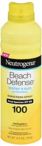 Neutrogena Beach Defense Spray Sunscreen - SPF 100 - 5oz
