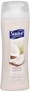 Suave Naturals Body Wash Tropical Coconut 12 oz