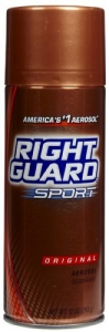Right Guard Sport Aerosol Deodorant Original 10 oz