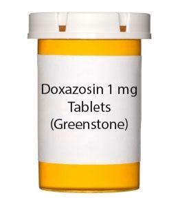 Doxazosin 1 mg Tablets (Greenstone)