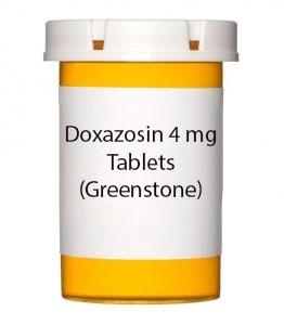 Doxazosin 4 mg Tablets (Greenstone)