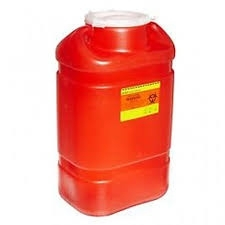 BD Sharps Container Large 8.2 Qt Red