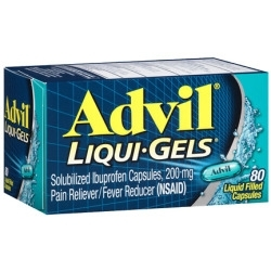 Advil Liqui-gel Pain Reliever & Fever Reducer - 80ct