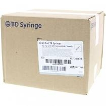 "BD TB Syringe 27 Gauge, 1cc, 1/2"" Needle - 10 Count"