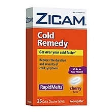 Zicam Cold Remedy RapidMelts Tablets Cherry - 25 ct