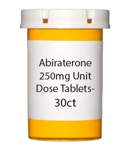 Abiraterone 250mg Unit Dose Tablets- 30ct