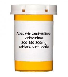 Abacavir-Lamivudine-Zidovudine 300-150-300mg Tablets