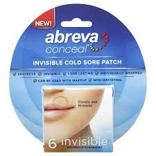 Abreva Conceal Cold Sore Patch-6ct