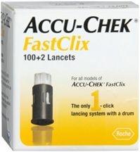 Accu-Chek FastClix Lancets - 102 Lancets
