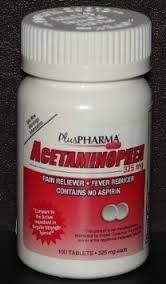 Acetaminophen (325mg) - 100 Tablets