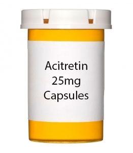 Acitretin 25mg Capsules