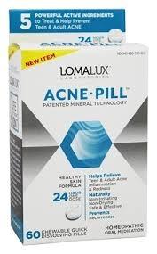 Loma Lux Laboratories Acne Pill Chewable Quick Dissolving - 60ct