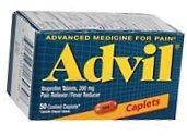 Advil Caplet 50ct