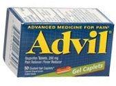 Advil Gel Caplet 50ct