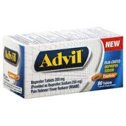 Advil Film-Coated Caplet- 20ct