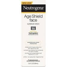 Neutrogena Age Shield Face, Sunscreen Lotion, SPF 70- 3oz