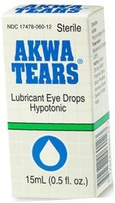 Akwa Tears Opthalmic Solution 15ml