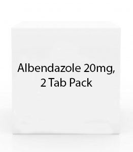 Albendazole 200mg, 2 Tab Pack
