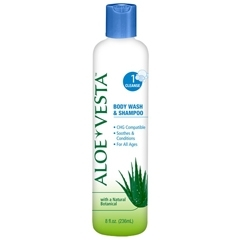 Aloe Vesta Body Wash And Shampoo 8oz