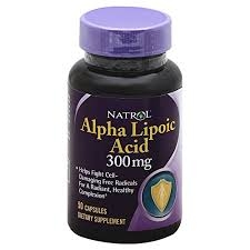 Natrol Alpha Lipoic Acid 300 mg Dietary Supplement Capsules - 50ct