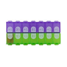 Ezy Dose Easy Fill 7 Day AM/PM Pill Organizer