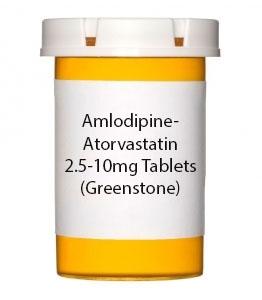 Amlodipine-Atorvastatin 2.5-10mg Tabletst (Prasco)