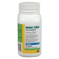 Amoxi-Tabs 100mg Tablets