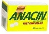 Anacin Tablet 50ct