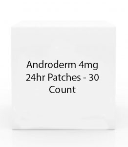 Androderm 4mg 24hr Patches - 30 Count