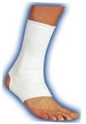 Ankle Support Elastic Beige Small-Bell Horn