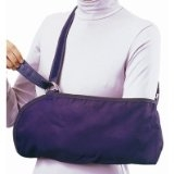 Bell-Horn Cradle Arm Sling, Youth, Blue