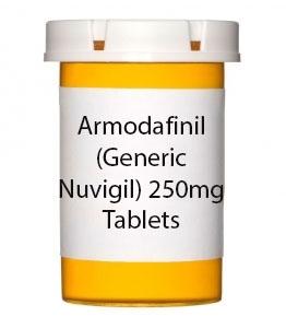 Armodafinil (Generic Nuvigil) 250mg Tablets