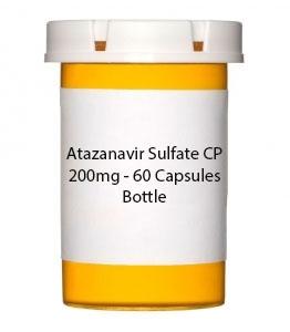 Atazanavir Sulfate CP 200mg - 30 Capsules Bottle