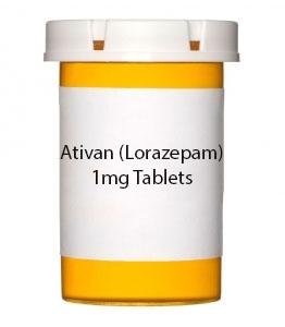 Ativan 1mg Tablets