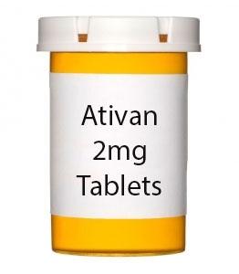 Ativan 2mg Tablets