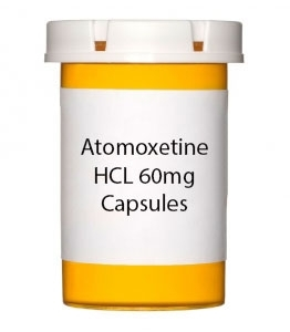 Atomoxetine HCL 60mg Capsules