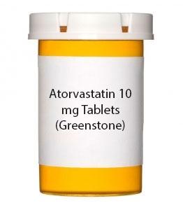 Atorvastatin 10 mg Tablets (Greenstone)