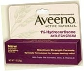 Aveeno Active Naturals 1% Anti-Itch Cream 1 Ounce****OTC DISCONTINUED 3/5/14