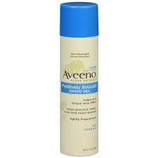 Aveeno Positively Smooth Shave Gel- 7oz