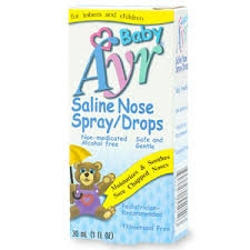 Ayr Baby Saline Nose Spray/Drops - 1oz