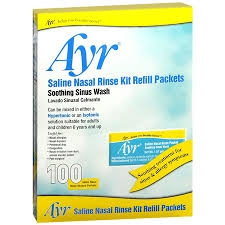 Ayr Sinus Rinse Refill Packets -100ct