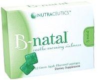 B-natal Green Apple-Flavored Lozenges 28ct