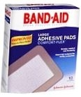 Band-Aid Adhesive Pad Large - 10