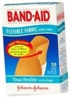 Band-Aid Bandage Flexible Fabric Extra Large 10 ct****OTC DISCONTINUED 3/5/14