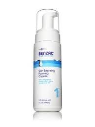 Benzac Skin Balancing Foaming Cleanser- 6oz